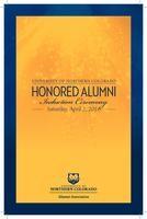 Honored Alumni Programs