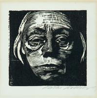 Selbstbildnis 1923 / Klipstein 168/XIIIb by Käthe Kollwitz