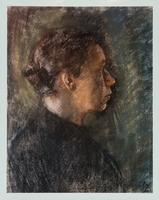 Photograph of a Painting by Käthe Kollwitz
