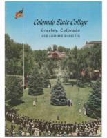 1959 - Colorado State College Summer Bulletin, series 59, number 1