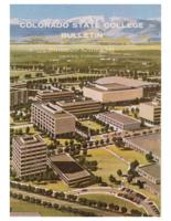 1966 - Colorado State College Summer Bulletin,