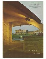 1969-Colorado State College Campus Scenes Bulletin, Series 69, number 6