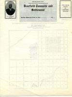 O. T. Jackson Papers, Folder 12: Dearfield Map