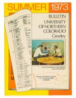1973-University of Northern Colorado Summer Bulletin