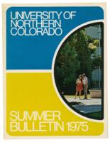 1975-University of Northern Colorado, series 75, number 1