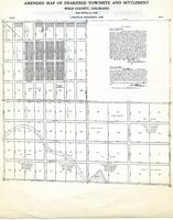 O. T. Jackson Papers, Folder 13: Dearfield Map - 1914 Amended