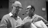 James A. Michener and Angus Macnab