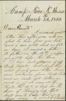 Dan Parker Civil War Letters