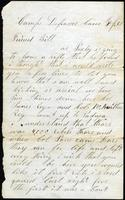 1861 - From Dan Parker to William Hagan
