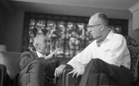 James A. Michener and Juanito Quintana