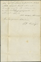1863-06-20 - From Luther Ensign to cousin Lottie