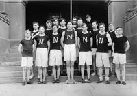 Men's track and field team, State Normal School