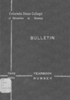 1949-1950 - Colorado State College of Education bulletin