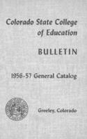 1956 - Colorado State College of Education, series 56, number 1