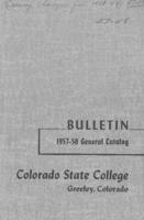 1957 - Colorado State College bulletin, series 56, number 7