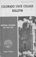 Colorado State College bulletin, series 64, number 7: 1965-66 general catalog
