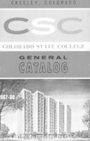 Colorado State College bulletin, series 67, number 4: 1967-68 general catalog