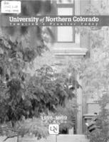 1998-1999 - University of Northern Colorado undergraduate and graduate catalog, series 48, number 2