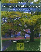 1999-2000 - University of Northern Colorado undergraduate and graduate catalog, series 49, number 2