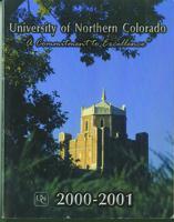 2000-2001 - University of Northern Colorado undergraduate and graduate catalog, series 2000, number 2