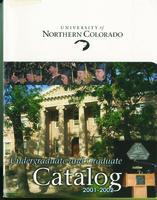 2001-2002 - University of Northern Colorado undergraduate and graduate catalog, series 2001, number 2
