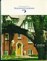 2005-2006 - University of Northern Colorado undergraduate and graduate catalog