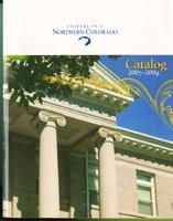 2007-2008 - University of Northern Colorado undergraduate and graduate catalog