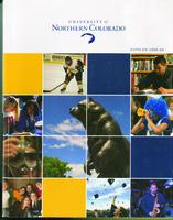 2008-2009 - University of Northern Colorado undergraduate and graduate catalog