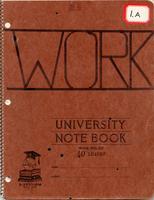 Centennial notebook 1.A