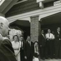 Opening of the Graduate Center