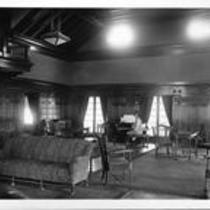 Interior of the Women's Club House