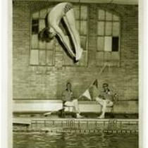 Diver, University of Northern Colorado men's swim team, 1972