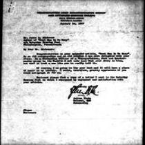 1947-01-30 Letter from Julius Klein to James A. Michener