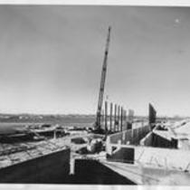 Bishop-Lehr Hall construction, 1961