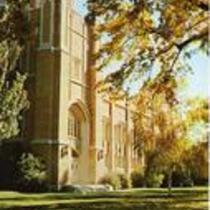 Gunter Hall, Colorado State Gymnasium, Greeley, Colorado. Circa 1957-1970