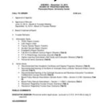 2014-11-14 - Board of Trustees Retreat agenda and supporting documents