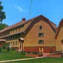 Wiebking and Wilson Halls Women's Dormitories Colorado State College Greeley, Colorado. Circa 1957-1970