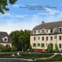 Women's Residence Halls, Colorado State College of Education, Greeley, Colorado. Circa 1936-1957