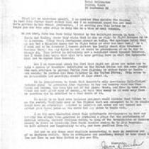 James A. Michener to unknown recipient, September 16, 1966