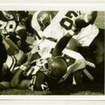 Action shot at a University of Northern Colorado football game, 1993.