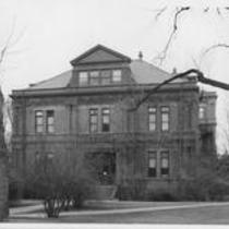 Cranford Hall, west exterior entrance