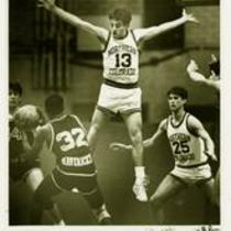University of Northern Colorado basketball player, Mike Sanders, 1987