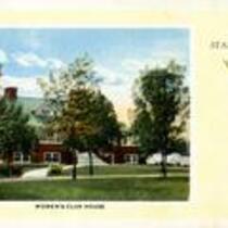 Women's Club House. Circa 1916.