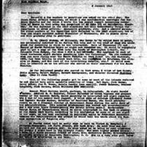 1946-01-08 Letter from James Michener to Miss Cynthia Walsh