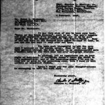 1947-02-04 Letter from Charles L. Skelley Jr. to James A. Michener