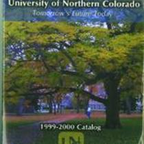 1999-2000 - University of Northern Colorado undergraduate and graduate catalog, series 49, number 2