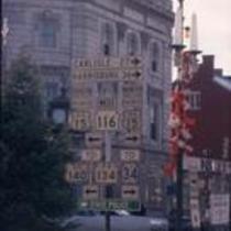 Road signs, Gettysburg, PA