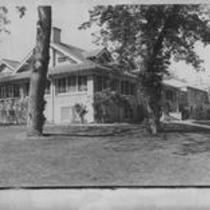 Gray Hall exterior, northeast entrance