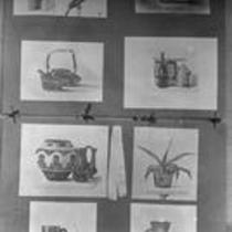 Still life prints, State Normal School campus