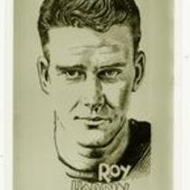Roy Hardin, University of Northern Colorado football, ca. 1934.